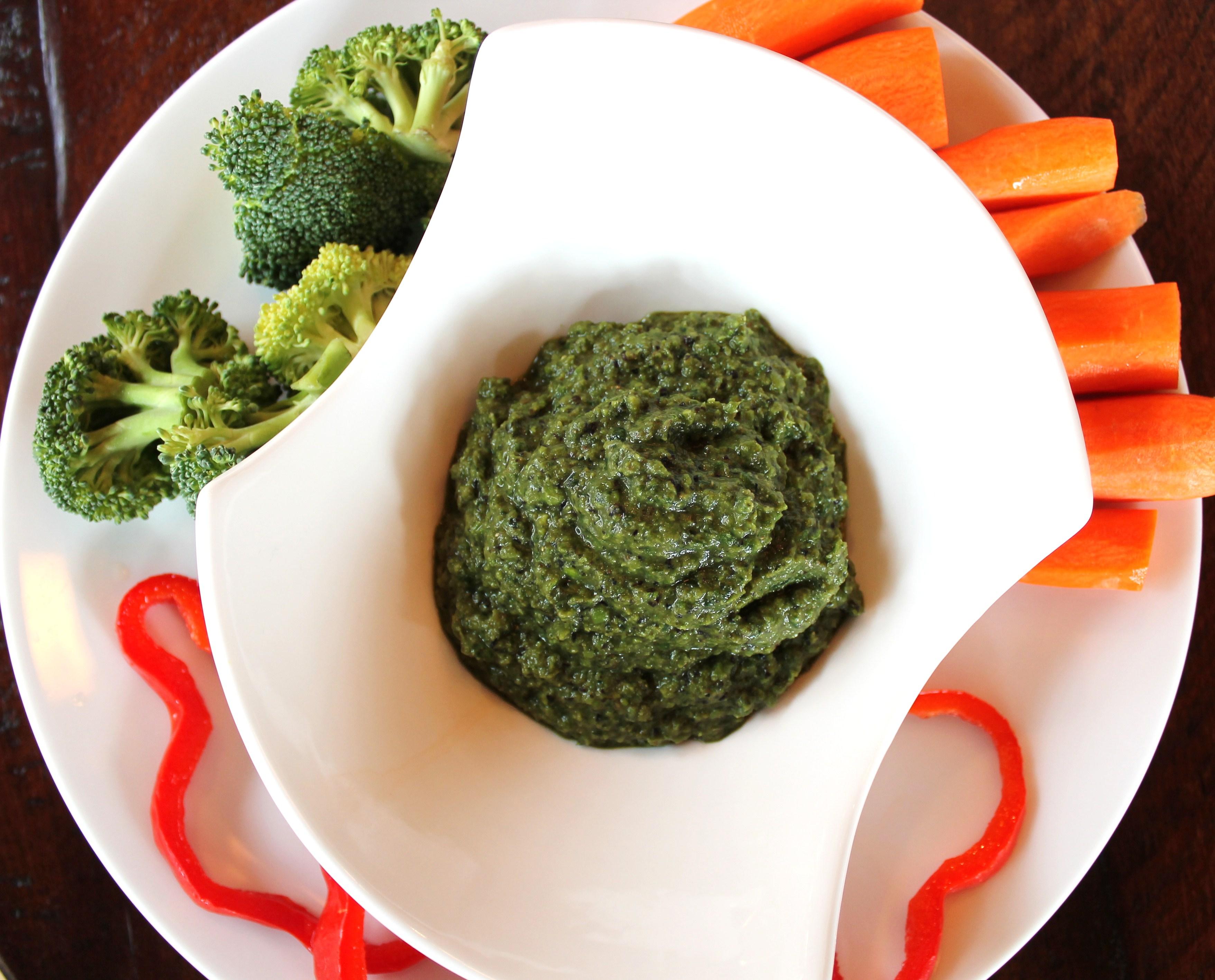 Spinach Pea Pesto