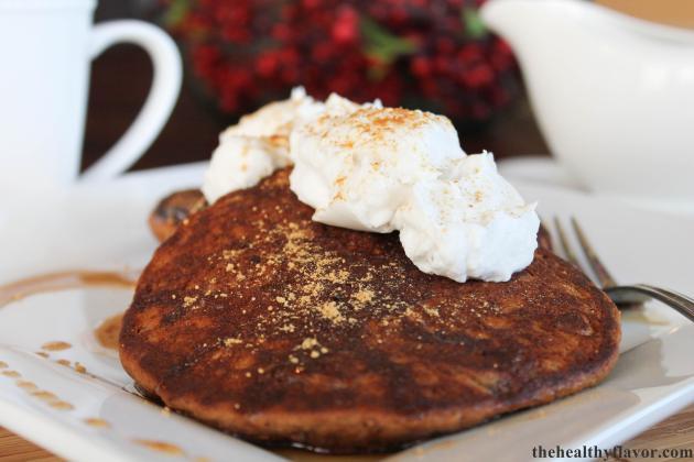 Gingersnap Pancakes