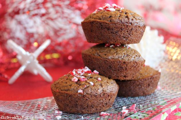 Gingersnap Mint Muffins