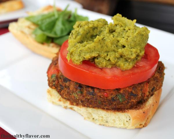 Curry Bean Burger