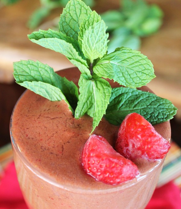 Mint Chocolate Berry Delight