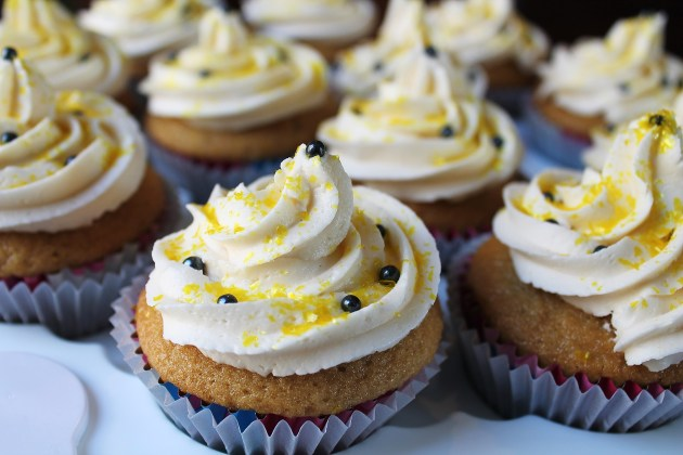 Maple Vanilla Cupcakes