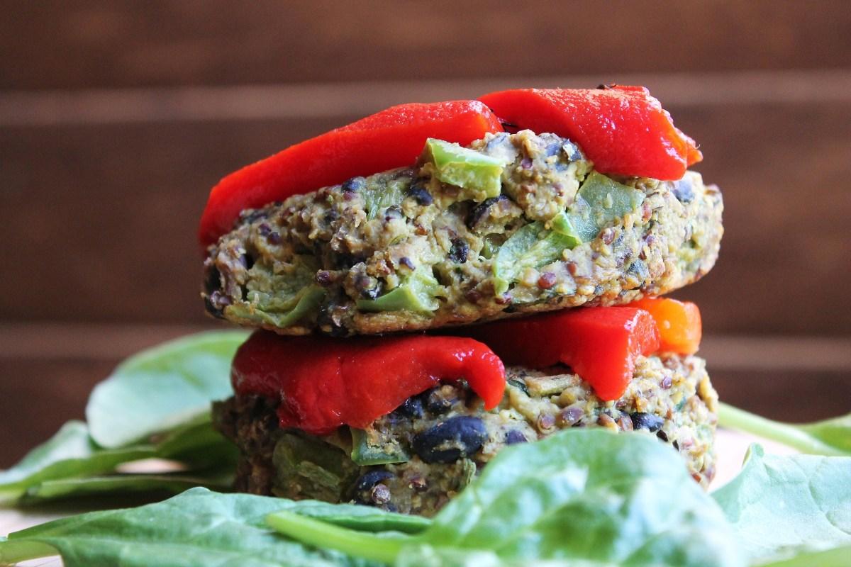 Curry-Spiced Veggie Burgers Recipe — Dishmaps